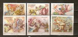 AUTRICHE - FRESQUE - SERIE DE 1108 A 1113 - COTE 5 EUROS - Austria