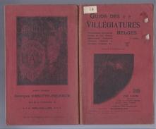 NU à 5€ GUIDE DES VILLEGIATURES BELGES LA MER LA MEUSE L' ARDENNE PUB CHAMPAGNE VINS LIQUEURS LOUVAIN BRUXELLES ARMES - 1901-1940