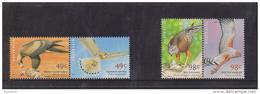 Australia 2001 Bird Of Prey Set 4 In Pairs MNH - 2000-09 Elizabeth II