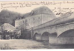 37. ARTANNES. CPA . LE MOULIN ET LE PONT. ANNÉE 1904 - Tours