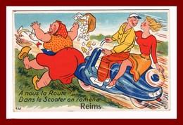 Carte Système De Reims   N°141  édition Gaby - Reims