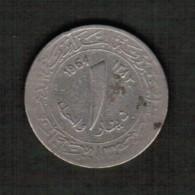 ALGERIA   1 DINAR 1964 (AH 1383) (KM #100) - Algeria