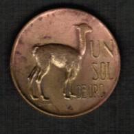 PERU  1 SOL 1971  (KM #248) - Peru