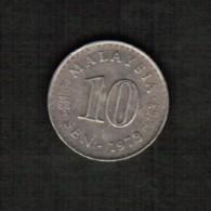 MALAYSIA  10 SEN 1973  (KM #3) - Malaysia