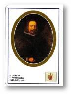 D. JOÃO IV - O Restaurador - 1640/1656 - N.º 22 -  Monarquia Reis De Portugal Kings Rois - 1993 - Calendriers