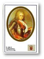 D. JOÃO V - O Magnânimo - 1707/1750 - N.º 25 -  Monarquia Reis De Portugal Kings Rois - 1993 - Klein Formaat: 1991-00
