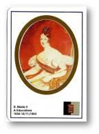 D. MARIA II - A Educadora - 1834/1853 - N.º 32 -  Monarquia Reis De Portugal Kings Rois - 1993 - Tamaño Pequeño : 1991-00