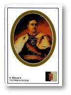 D. MANUEL II - O Patriota Ou Desventurado - 1908/1910 - N.º 36 -  Monarquia Reis De Portugal Kings Rois - 1993 - Calendars