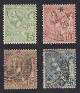 MONACO - 1901 - Serie Completa Formata Da 4 Valori Usati - Yvert 22/25. - Monaco