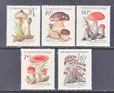 CZECHOSLOVAKIA  882-6  *    PLANTS  MUSHROOMS - Czechoslovakia
