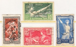 FRANCE  198-201  (o)    OLYMPICS  1924