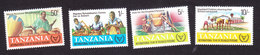 Tanzania, Scott #185-188, Mint Hinged, Int'l Year Of The Disabled, Issued 1981 - Tanzanie (1964-...)