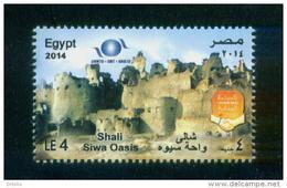 EGYPT / 2014 / SIWA OASIS / SHALI / UN / UNWTO / OMT / IOHBTO / WORLD TOURISM DAY / LOCAL TOURISM / MNH / VF - Nuovi