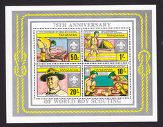 Tanzania, Scott #208a, Mint Never Hinged, Scouting, Issued 1982 - Tanzania (1964-...)