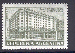 ARGENTINA 1942 National Postal Savings Bank, Scott No. 480, MH - Argentina