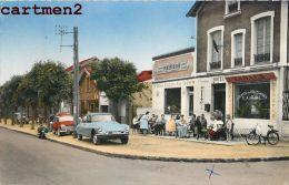 HOUILLES PLACE GENERAL LECLERC TABAC CAFE HOTEL PRIMIOR SLAVIA AUTOMOBILE VOITURE CITROEN SOLEX 78 YVELINES - Houilles