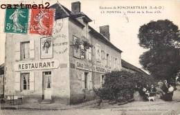 LE PONTEL HOTEL DE LA ROSE D'OR RESTAURANT 78 - France