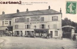 SAINT-REMY-LES-CHEVREUSE HOTEL RESTAURANT DE LA VIERGE MAISON CH. MENAULT HOTEL 78 YVELINES - St.-Rémy-lès-Chevreuse