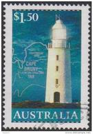 AUSTRALIA - USED 2002 $1.50 Lighthouses - Cape Bruny, Tasmania