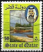 Qatar 1984 - Historic Boat ( Mi 860 - YT 500 ) - Qatar