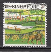 Singapoure, Zoo, Lion, Félin, Wildcat, Girafe, Giraffe, Train, Gibier
