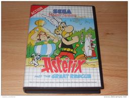 Uderzo - Goscinny - Idefix -  Asterix Et D Obelix - Jeu Sega - Master System - The Great  Rescue - Sega
