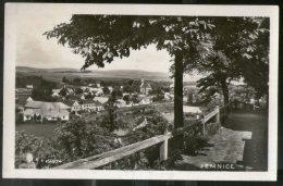 Czechoslovakia 1932 Jemnice City Panorama View Picture Post Card # 145 - Czech Republic