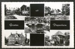 Netherlands 1970 Greetings From Diepenheim Building View Picture Post Card # 141 - Other