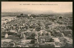 Tunisia 1911 Ruins Of The Damus-El-Karita Basilica View / Picture Post Card # 131 - Tunisia