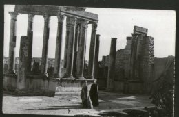 Tunisia 1968 Dougga Antique Theatre View / Picture Post Card To Germany # 127 - Tunisia