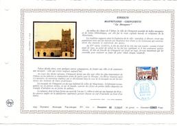 """FRANCE 1983 : Feuillet  DAP 1° Jour CERES En Soie RARE (4500 Ex) """" UNESCO 1983 : MAURITANIE """" N° YT SERV 75. Parf. état"""