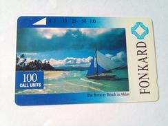Philippines Phonecard PLDT Tamura 100 Units Boracay Beach Mint
