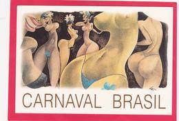 Modern Post Card Of Carnaval Brasil,Rio De Janeiro,B22. - Rio De Janeiro