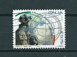 2011 Italy Missioni Militari Used/gebruikt/oblitere - 6. 1946-.. Republic