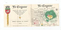 Publicité , BUREAU NATIONAL DU COGNAC , 4 Pages , 13 X 11 ,2 Scans - Werbung
