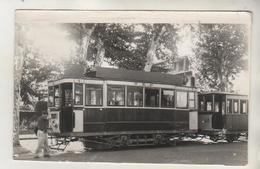 PERPIGNAN - Photo ( 13,5 X 8,5 Cm  ) - Tramway La Gare - Cliché J BAZIN - Postcards