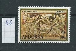Andorra - Spaans         Y /T      86       (XX)