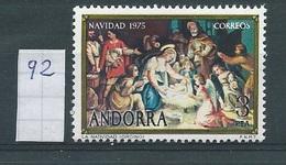Andorra - Spaans         Y /T     92     (XX)