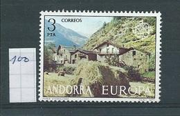 Andorra - Spaans         Y /T     100    (X)   Plakker