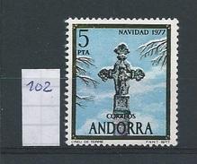 Andorra - Spaans         Y /T     102    (XX)