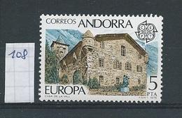 Andorra - Spaans         Y /T     108    (XX)