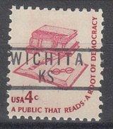 USA Precancel Vorausentwertung Preos Locals Kansas, Wichita 837