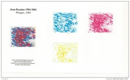 ETAPES SUCESSIVES DE L'IMPRESSION HELIOGRAVURE BAZAINE - Sheetlets