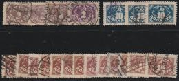 RUSSIA -  1925 Clearance Lot Of Postage Dues. Catalogue $80+. Scott J12, 16, 17. Used