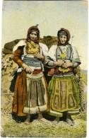 MACEDONIA  Donne Macedoni  Costumi Tipici - Macedonia