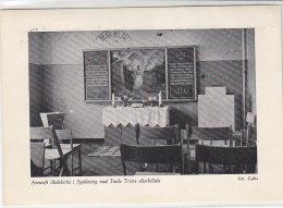 Aventoft Skolekirke I Sydslesvig Med Troels Triers Altarbillede - Nordfriesland