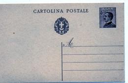 CARTOLINA POSTALE - FASCI MICHETTI  STEMMA SABAUDO TRA FASCI - NON VIAGGIATA - Postcards