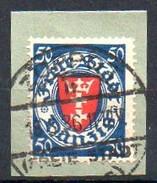 Freie Stadt Danzig  1924-1938 MiNr. 200  O/ Used  Briefstück/ Piece ;  Wappen