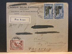 68/911  LETTRE ALBERTVILLE POUR LA BELG 1932