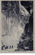 CARRARA - CAVE DI MARMO DEL DUOMO ALLA CANDOGLIA - NON VIAGGIATA - Carrara
